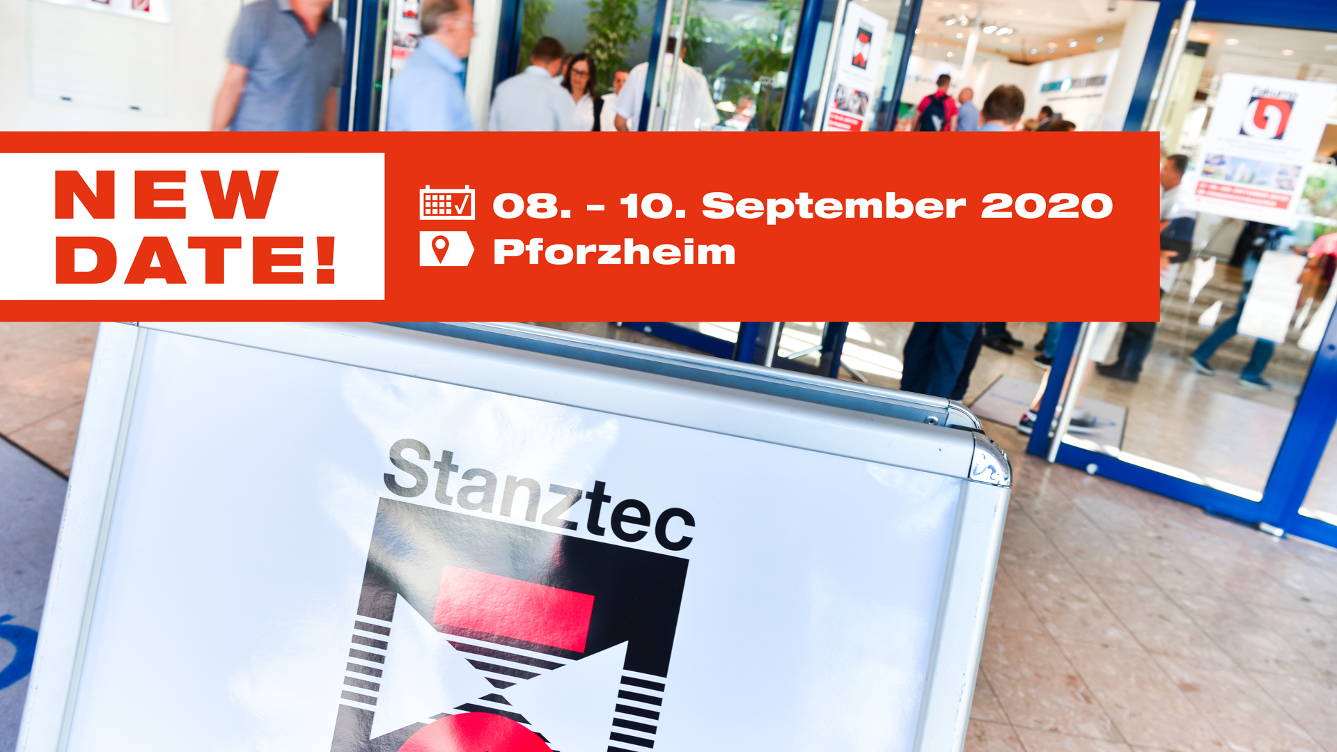 Date of the Stanztec trade fair is postponed due to current situation